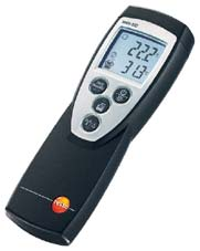 More info on Testo 922 - Dual Channel, Digital Temperature Meter