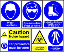 More info on Personal Protective Equipment Signs