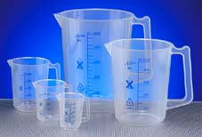 More info on Graduated Polypropylene Plastic Jugs